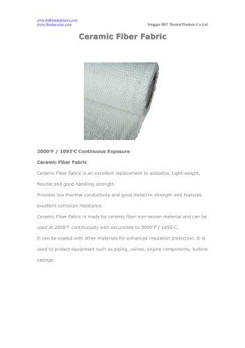 BSTFLEX Ceramic Fiber Fabric