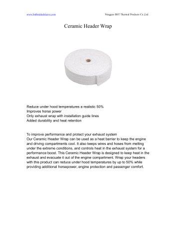 BSTFLEX Ceramic Header Wrap