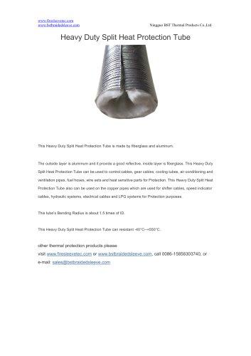 BSTFLEX heat shield Heavy Duty Split Heat Protection Tube