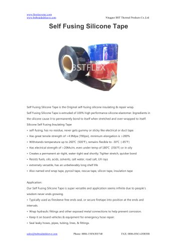 BSTFLEX Self Fusing Silicone Tape