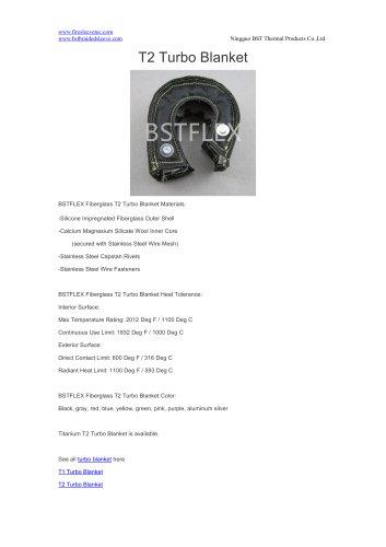 BSTFLEX T2 Turbo Blanket for turbo heat shield