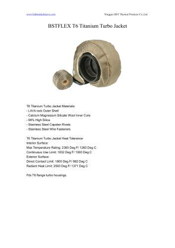 BSTFLEX T6 Titanium Turbo Jacket