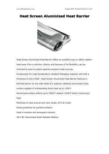 Heat Screen Aluminized Heat Barrier