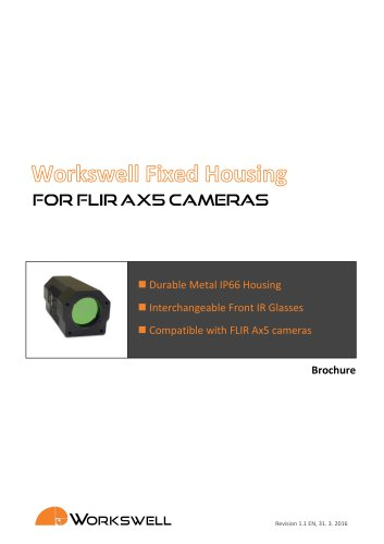 WORKSWELL FIXED HOUSING FOR FLIR AX5