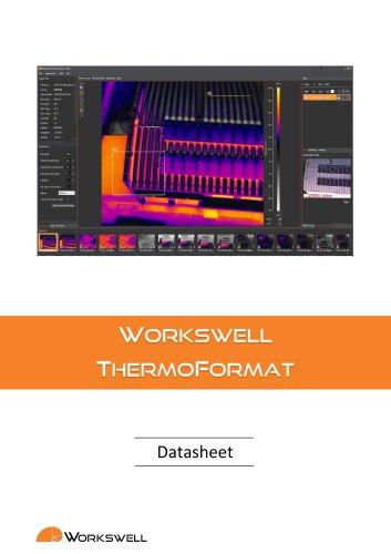 Workswell ThermoFormat - datasheet