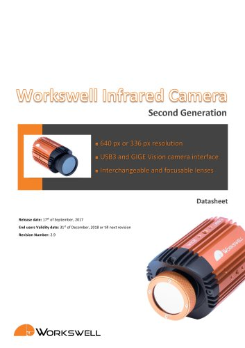 Workswell WIC datasheet