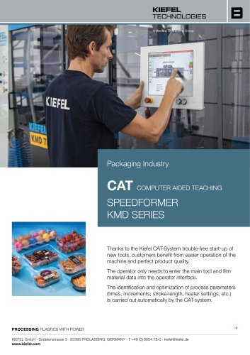 CAT Speedformer KMD Series