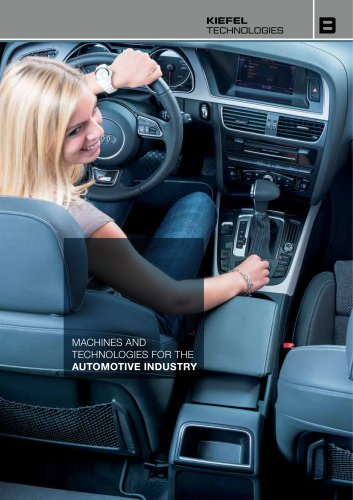 Machines and technologies for the automotive industry