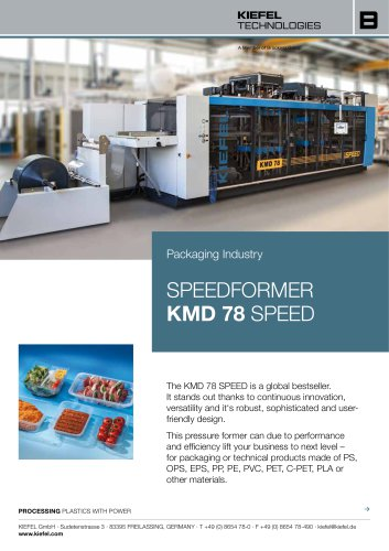 Speedformer KMD 78 SPEED