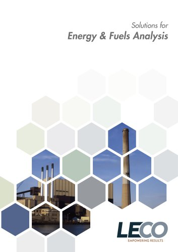 Energy and Fuels analysis