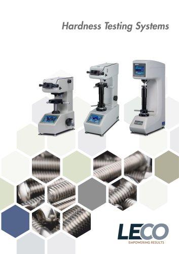Hardness Testing (LM, LV, LR/LCR Series)