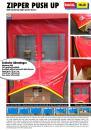 Self repairing High speed door / ZIPPER PUSH UP