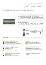3G/4G Industrial ROUTER F3525