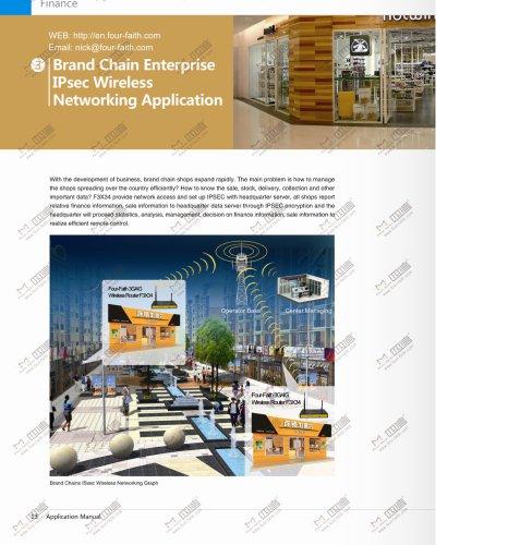 Brand Chains IPsec application