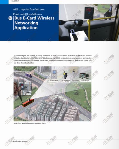 Bus E-Card Wireless Networking Application