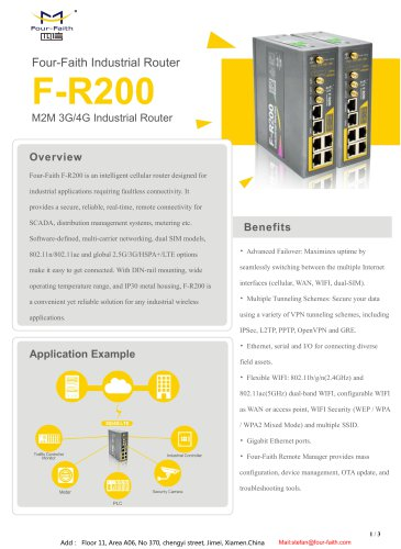 F-R200 Industrial Router
