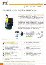 F2114 Industrial GPRS IP MODEM