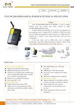 F2403 Industrial WCDMA IP MODEM