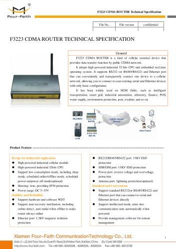 F3223 CDMA 3g ROUTER