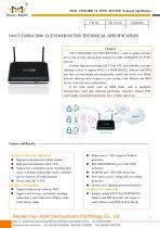 F4633 Industrial CDMA2000 1X EVDO ROUTER