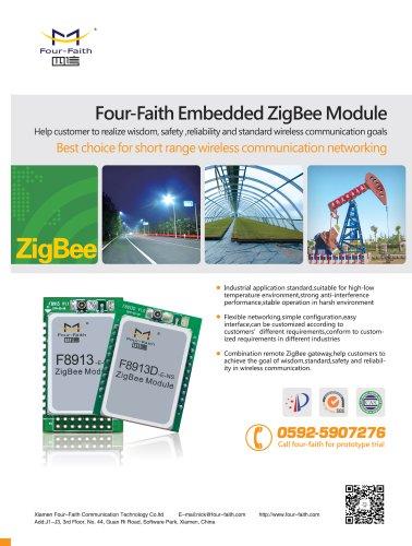 F8913D ZigBee module Application and Network