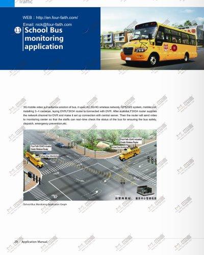 School Bus monitoring application