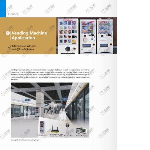 Vending Machine Application