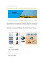 Wind power wireless monitoring application --- Four-Faith