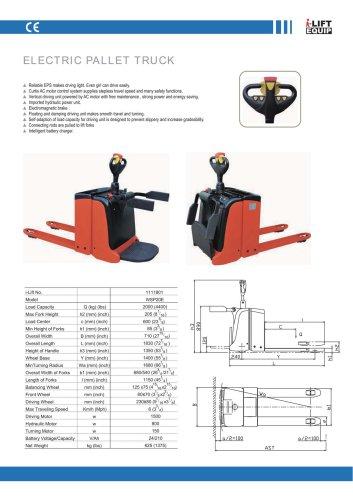 i-Lift/Hu-Lift Electric Pallet Truck WSP20E