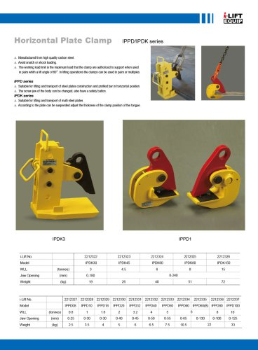 i-Lift/Hu-Lift Full Series Clamps