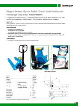 i-Lift/Hu-Lift Hand pallet truck with scales SSS25L - 1