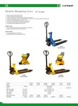 i-Lift/Hu-Lift Hand pallet truck with scales SSS25L - 2