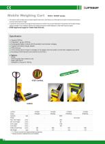 i-Lift/Hu-Lift Hand pallet truck with scales SSS25L - 4