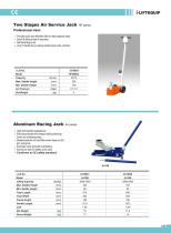MATERIAL HANDLING EQUIPMENT/I-LIFT/ALUMINUM RACING JACK/AJ SERIES - 1