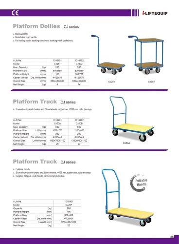 Platform Dollies CJ series