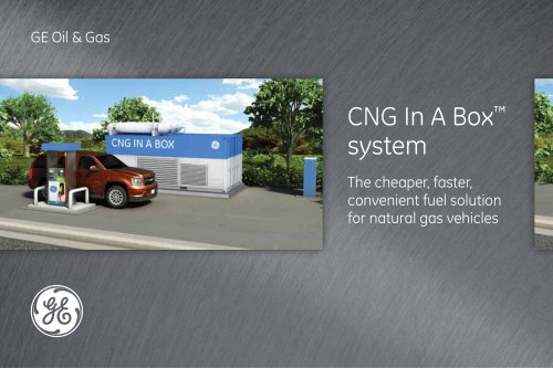 Moving beyond the physical pipeline network with a modular CNG solution