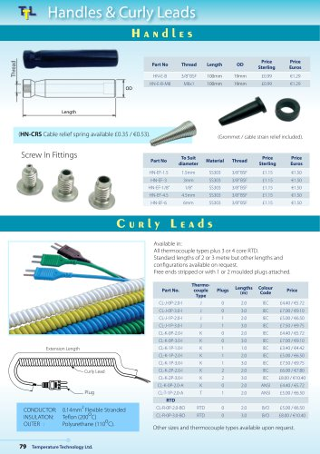 Handles & Curly Leads