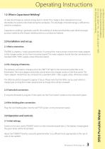SR50 Bench Portable Welder Operations & Instruction Manual - 3