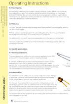 SR50 Bench Portable Welder Operations & Instruction Manual - 4