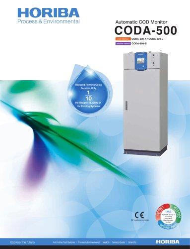 Brochure-Automatic COD Monitor CODA-500
