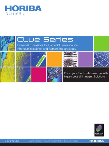 Cathodoluminescence F-CLUE