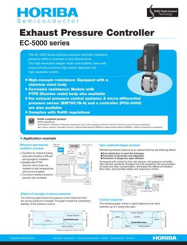 Exhaust Pressure Controller_EC-5000 series