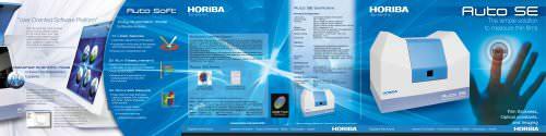Spectroscopic Ellipsometer: Auto SE, Simple Thin Film Measurement Tool!