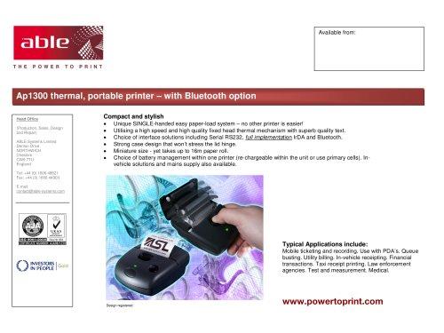 Pdf Portable Printer