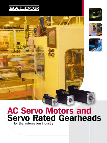 AC Servo Motors and Gearheads