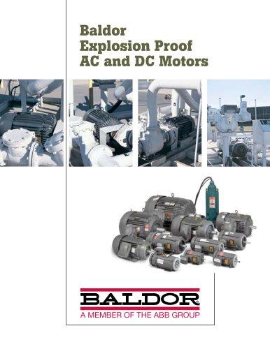 Baldor Explosion Proof AC and DC Motors