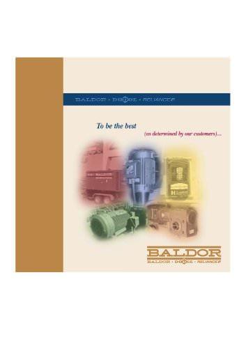 Baldor - General Product Catalog