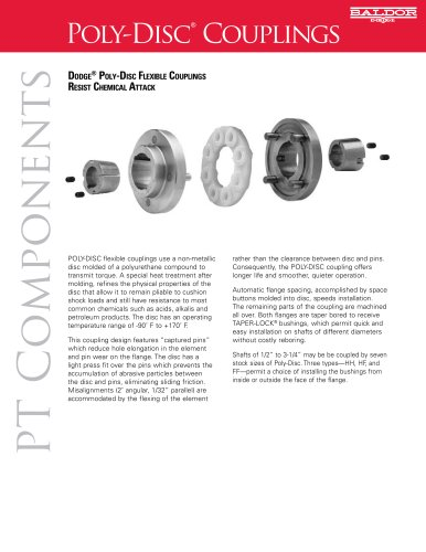 Poly Disc Couplings