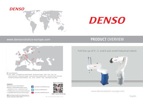 DENSO Robotics Product Overview