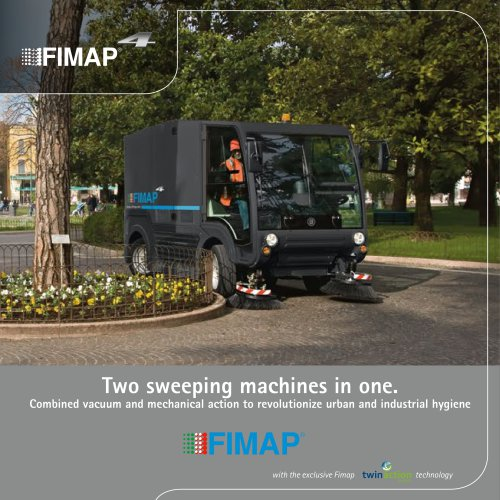 Two sweeping machines in one